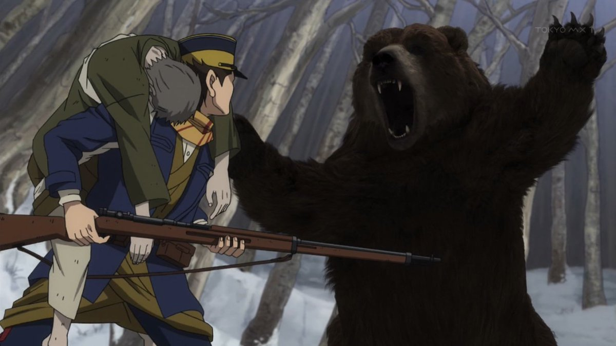 Golden Kamuy Bear